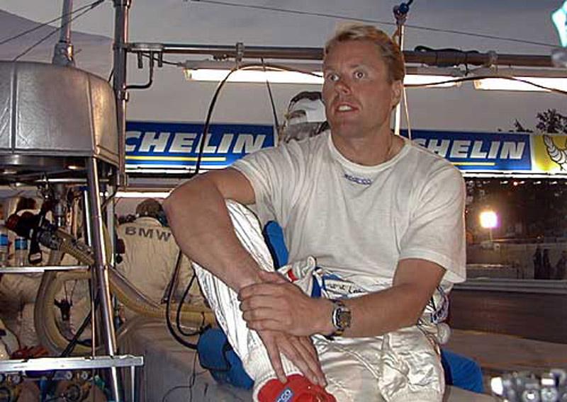O ex-piloto JJ Lehto