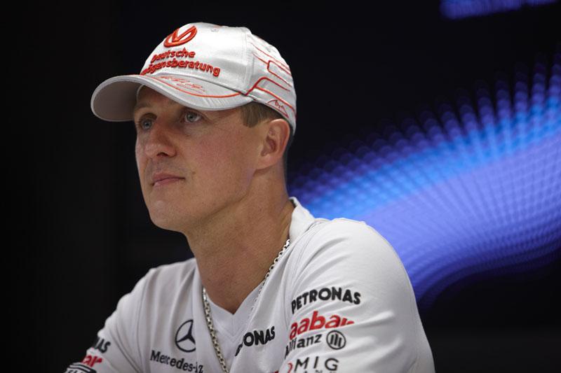 Schumacher faz 43 anos em janeiro