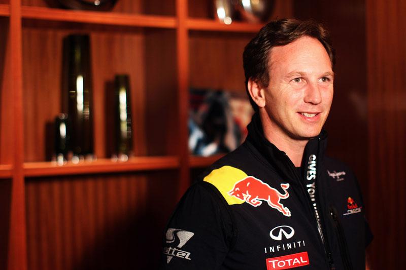 Christian Horner, chefe da Red Bull