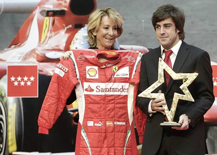 Alonso e o prêmio