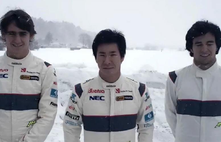 Gutierrez, Kobayashi e Perez