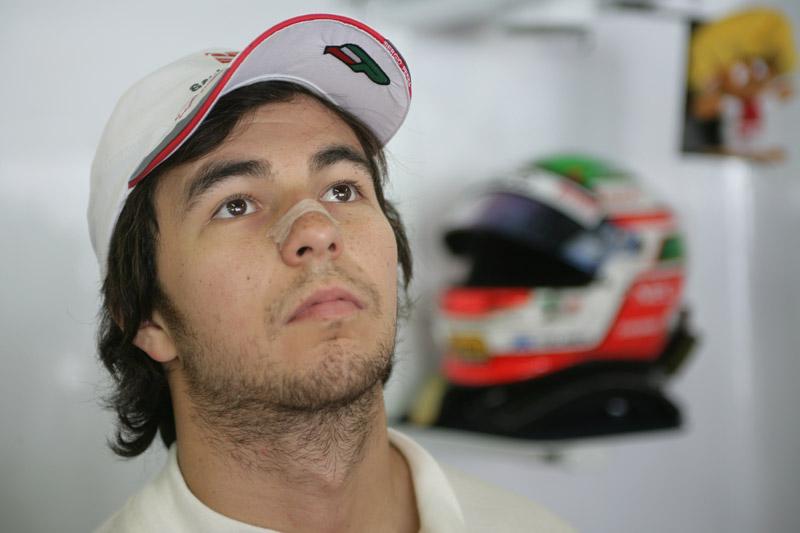 O mexicano Sergio Perez