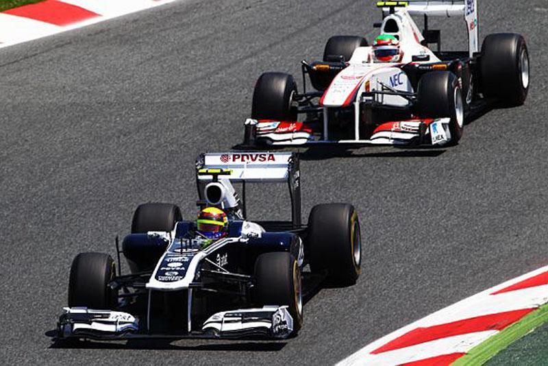 Maldonado e Perez estrearam em 2011