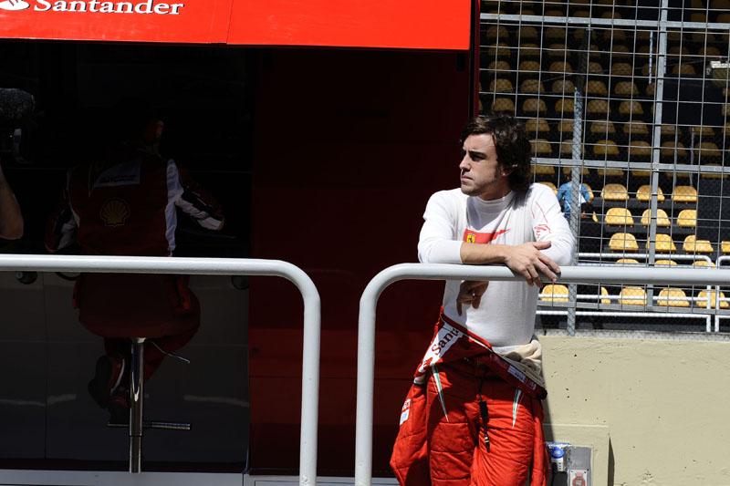 Alonso fez seu segundo ano de Ferrari em 2011