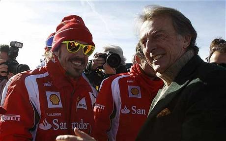 Alonso e Montezemolo