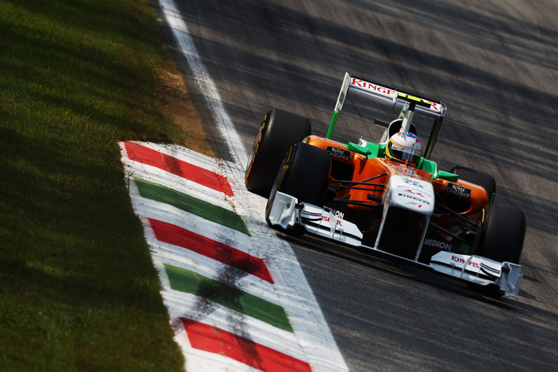A Force India foi a sexta colocada em 2011