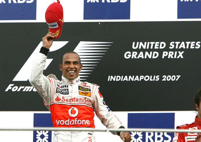 Hamilton foi o último vencedor do GP dos Estados Unidos, em 2007