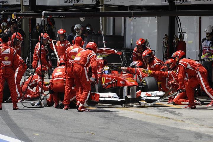Ferrari em Interlagos