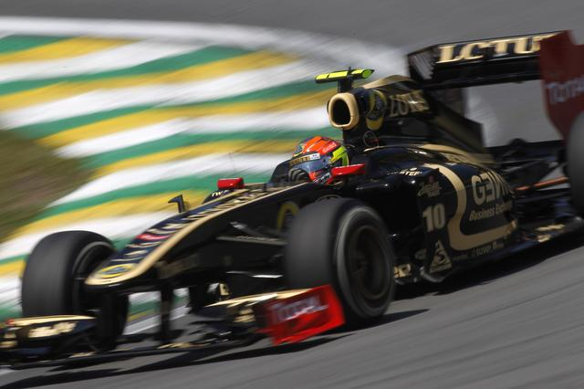 Grosjean de Lotus em Interlagos