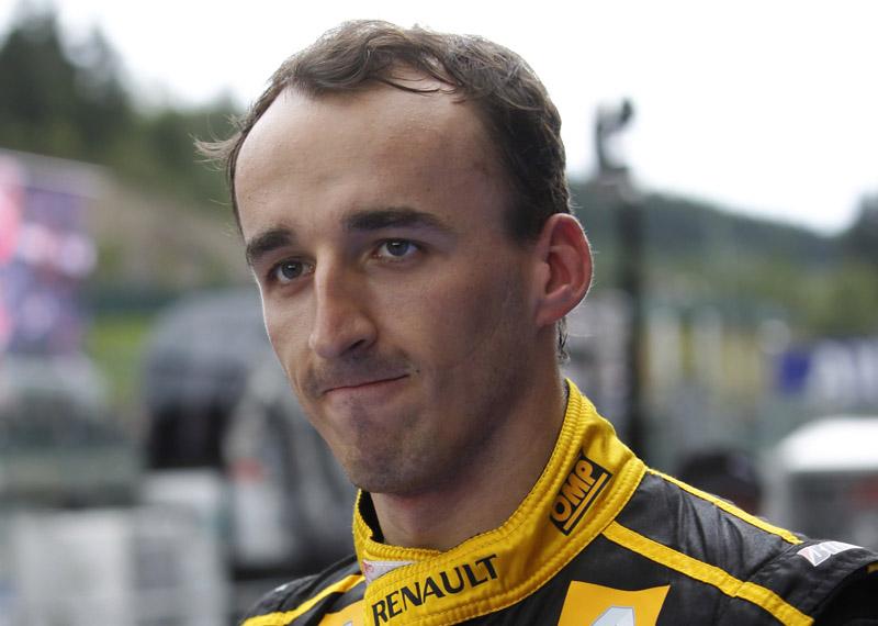 Kubica correu em 2010 pela Renault