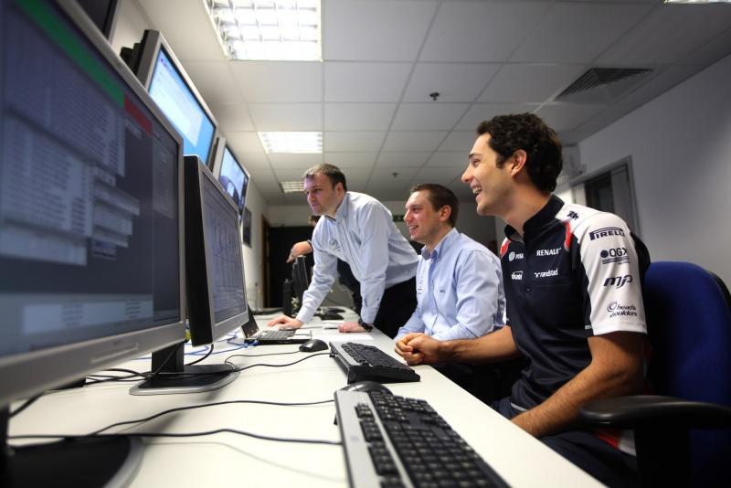Bruno Senna aposta numa boa integração com técnicos da Williams para ter uma boa temporada