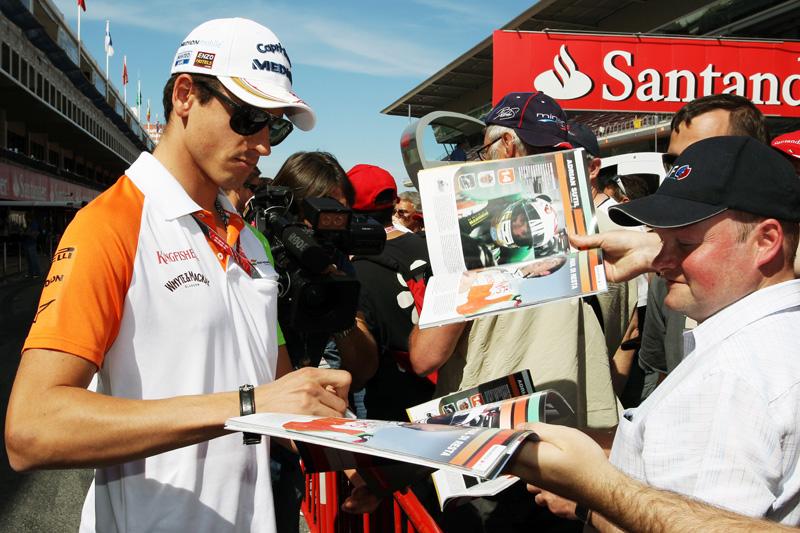 Sutil correu por cinco temporadas na Force India