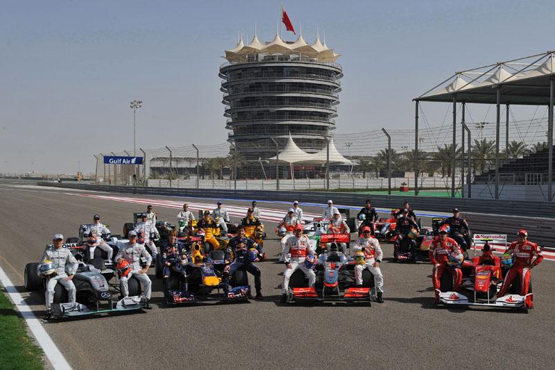 O último GP disputado no Bahrein foi em 2010