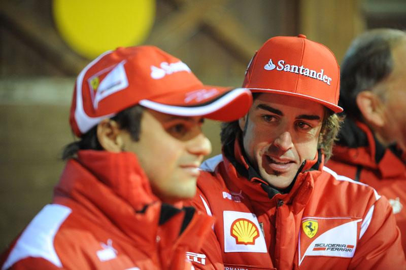 Alonso divide a equipe com Massa pelo terceiro ano