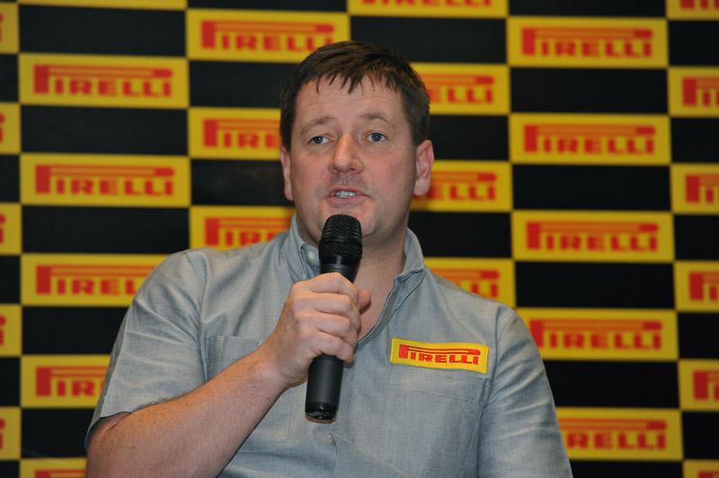 O diretor esportivo da Pirelli, Paul Hembery