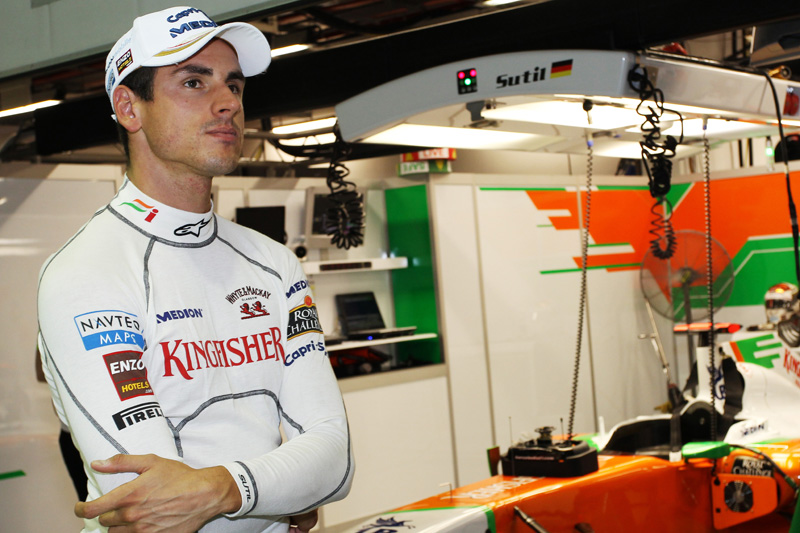Sutil foi preterido pela Force India e não tem vaga para 2012