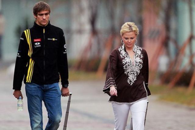 Petrov e Oksana Kosachenko