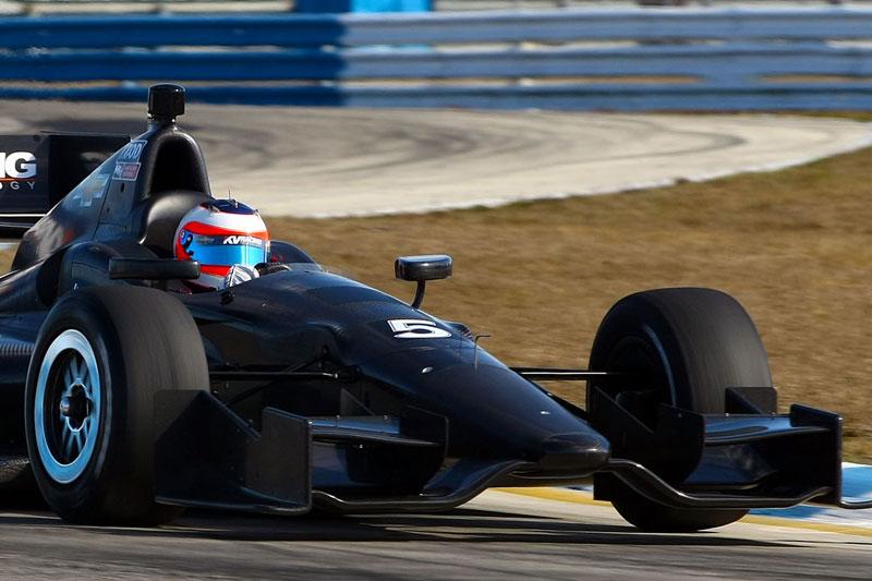 Barrichello treina em Sebring (Divulgação/MPTeam)