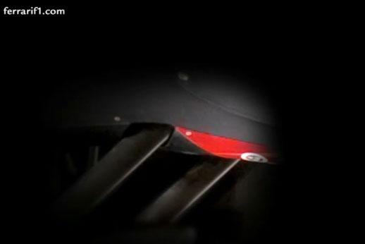 Frame de vídeo da Ferrari