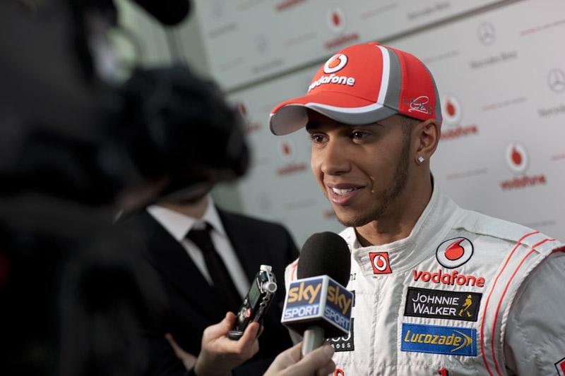 Hamilton inicia sua sexta temporada com a McLaren