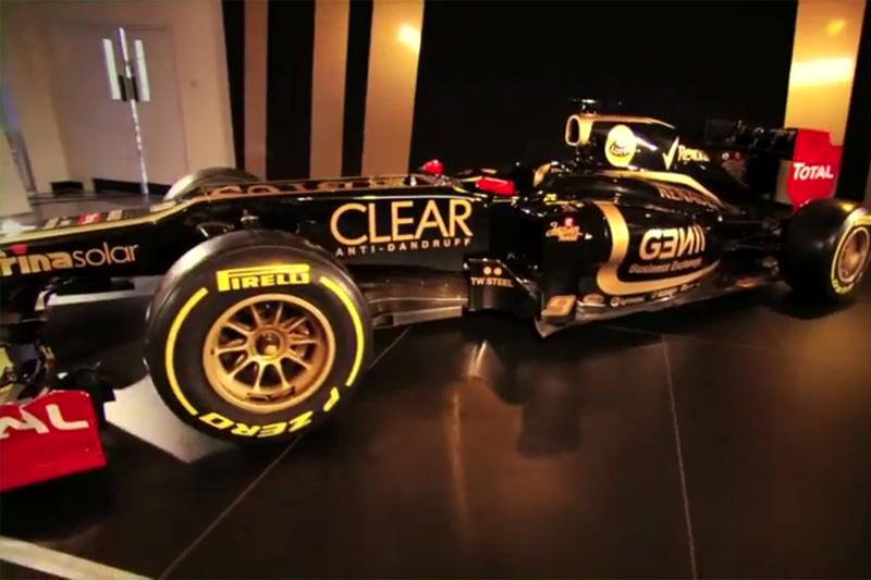 Imagem do novo carro da Lotus