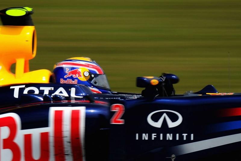 Mark Webber, da Red Bull, em Sepang