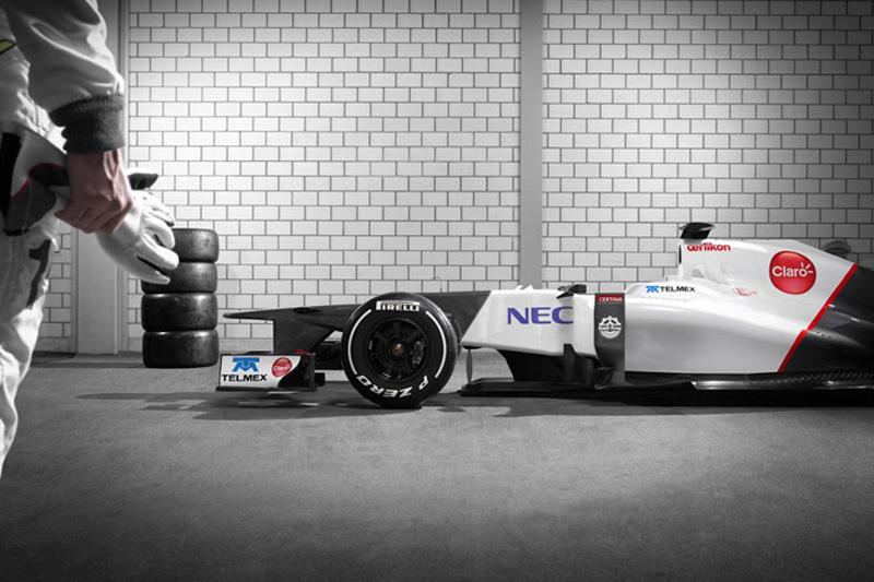 Novo carro da Sauber