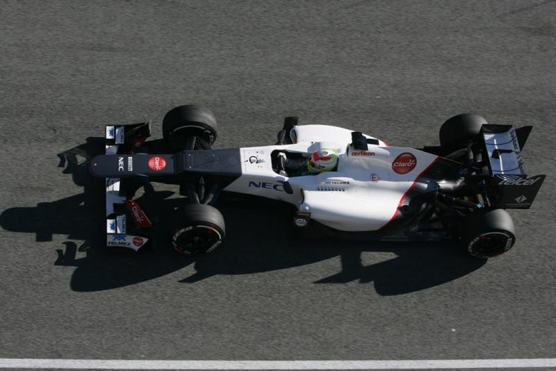 Sergio Perez em Jerez