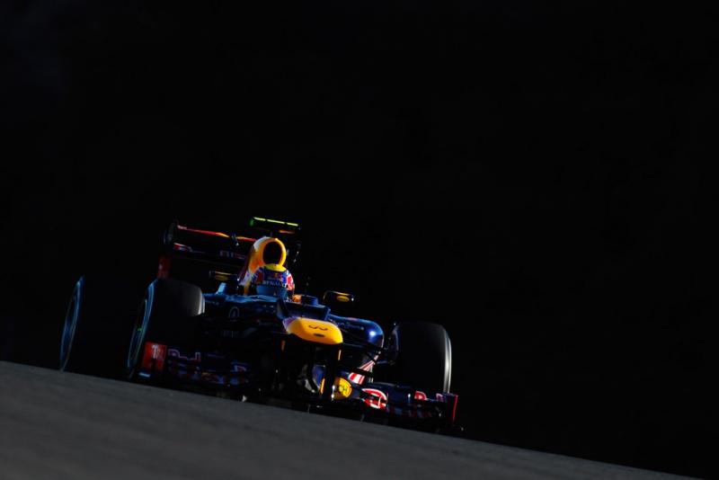 Mark Webber em Jerez