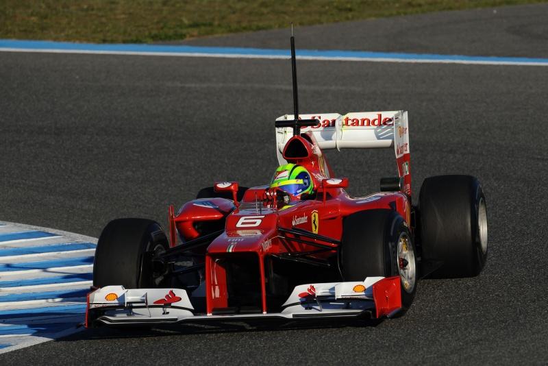 Felipe Massa encerrou nesta quarta-feira sua participação nos testes em Jerez