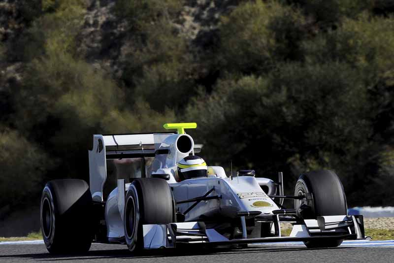 De la Rosa testa a Hispania de 2011 em Jerez