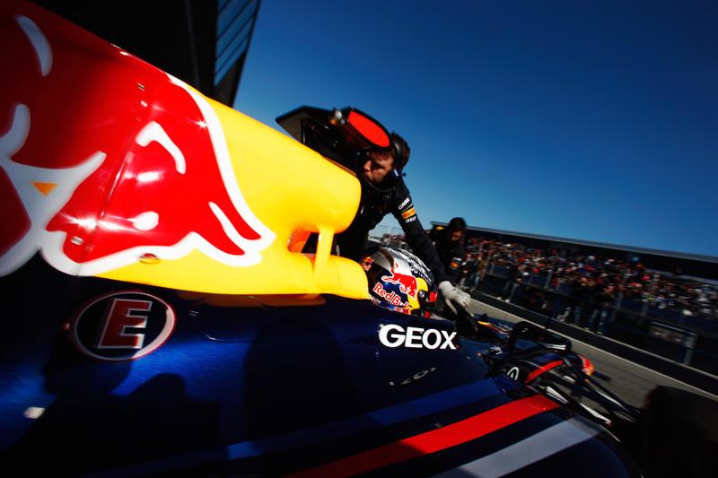 Sebastian Vettel em Jerez