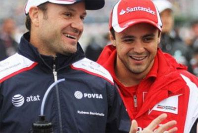 Barrichello e Massa