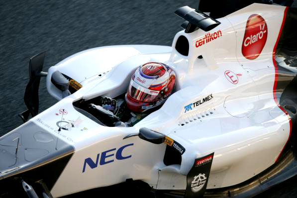 Kamui Kobayashi em Jerez
