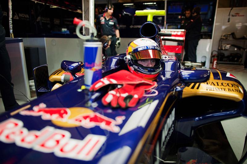Vergne testou pela Toro Rosso em Jerez