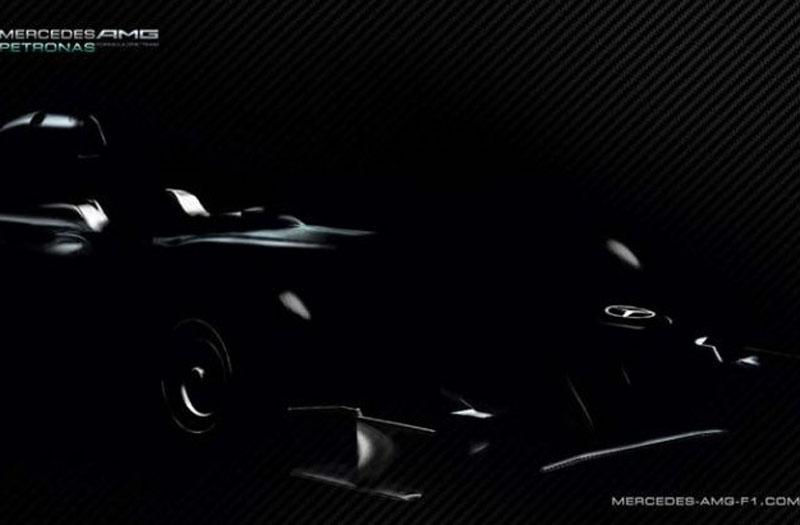 O novo modelo da Mercedes