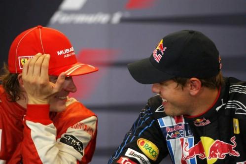 Raikkonen e Vettel em 2009