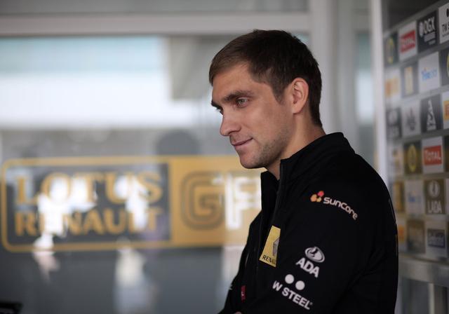 Petrov correu na ex-Renault durante dois anos