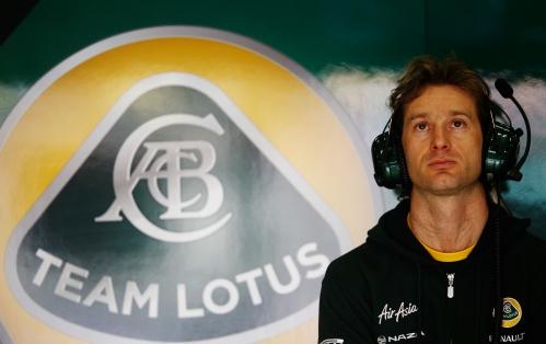 Trulli pilotou na Caterham desde sua fundação