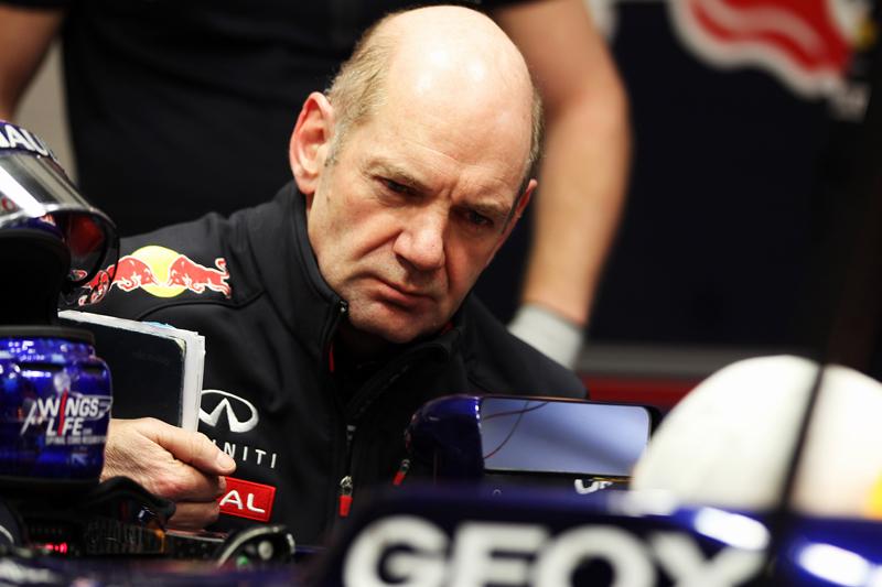 Newey é responsável pela linhagem vencedora da Red Bull