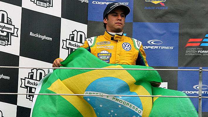 Nasr é o atual campeão da F-3 Britânica