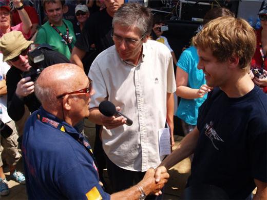Stirling Moss e Sebastian Vettel