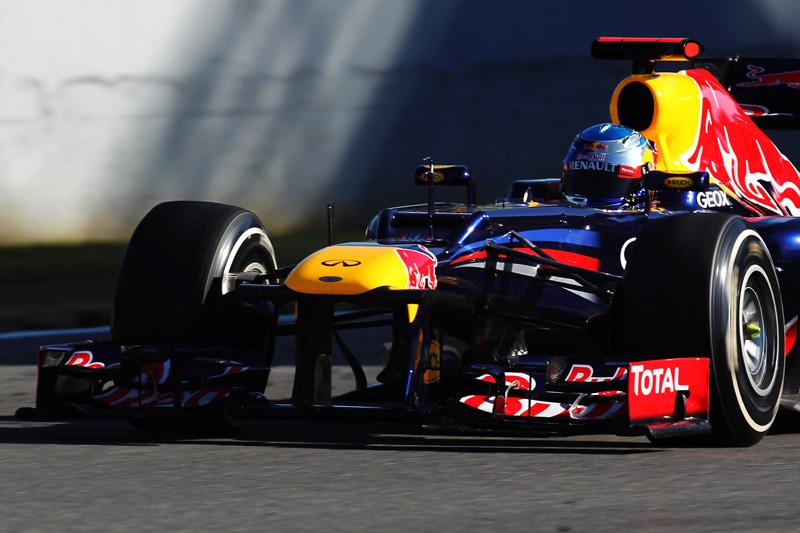 Vettel a bordo do RB8
