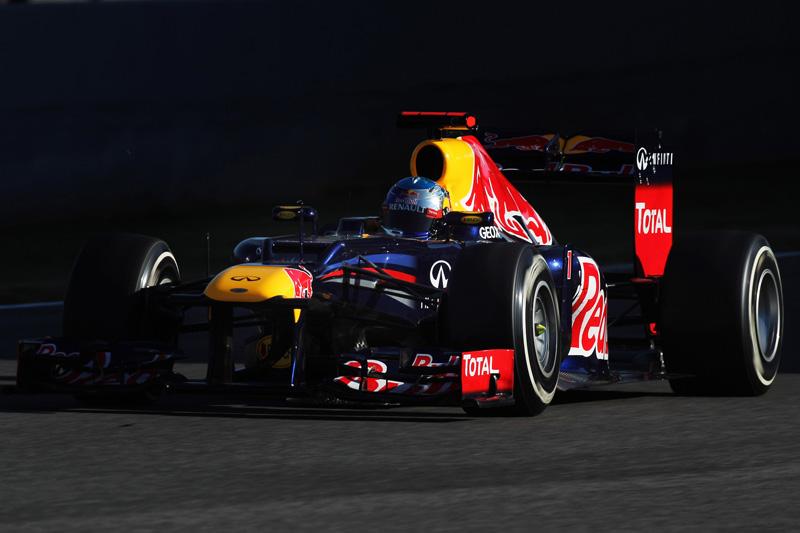 Vettel comanda os treinos de pré-temporada
