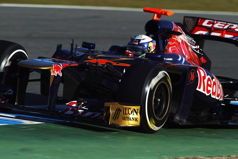 Ricciardo ficou em quarto com a Toro Rosso