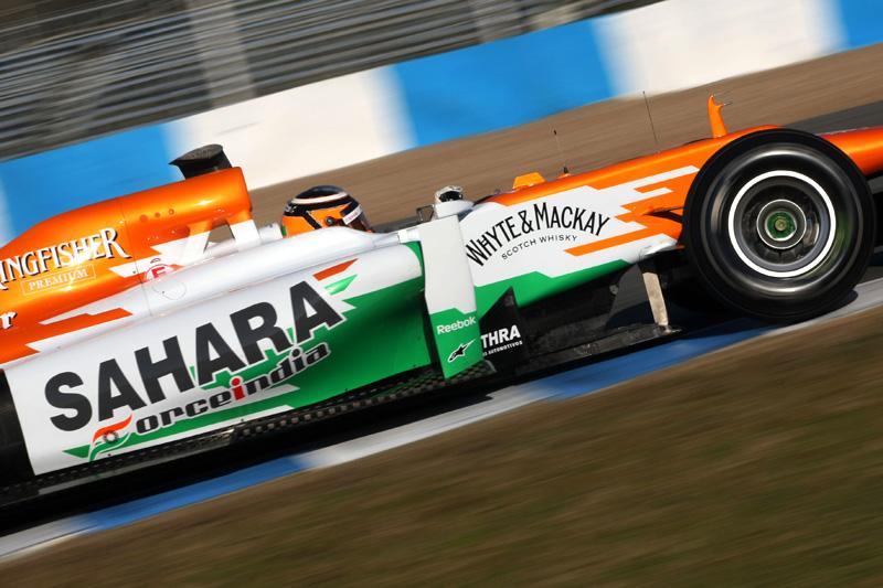 Hulkenberg em Jerez