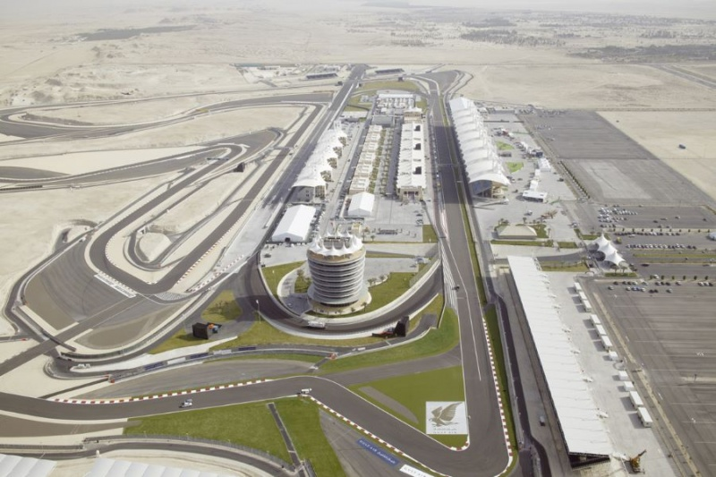 Mapa do Bahrein