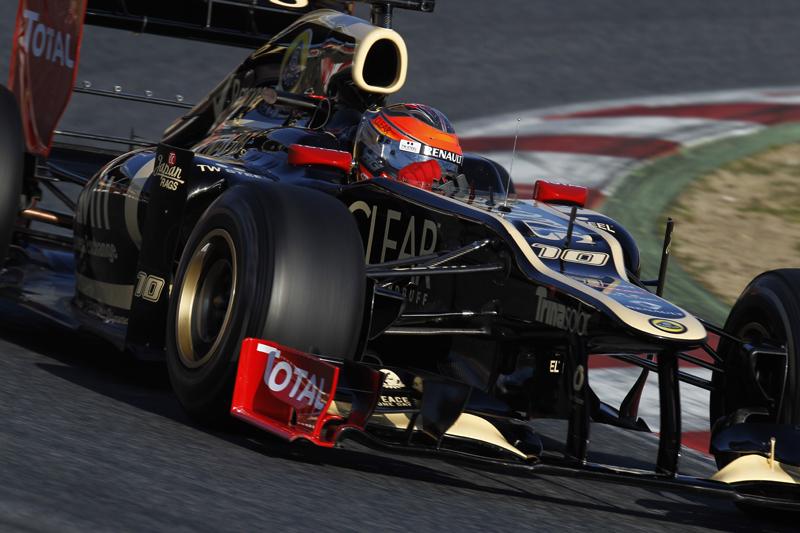 A Lotus não participou do teste de Barcelona