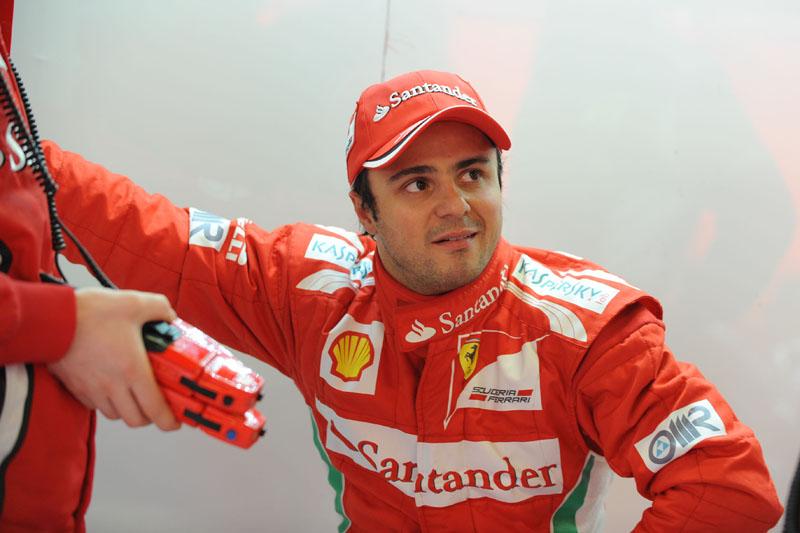 Massa inicia sua sétima temporada na Ferrari