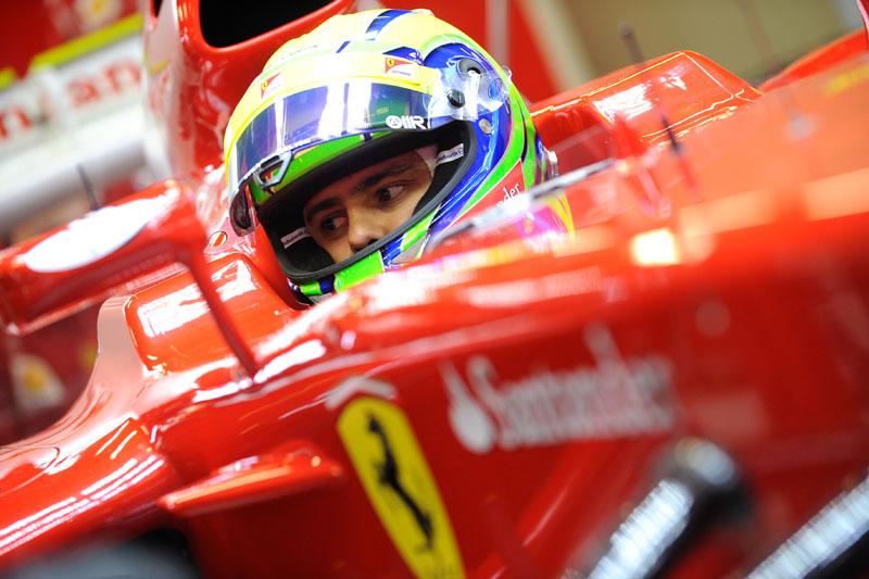 Massa tem mais dois dias de testes pela frente na Ferrari